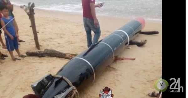 Thông tin chính thức về vật giống ngư lôi trôi ở biển Phú Yên