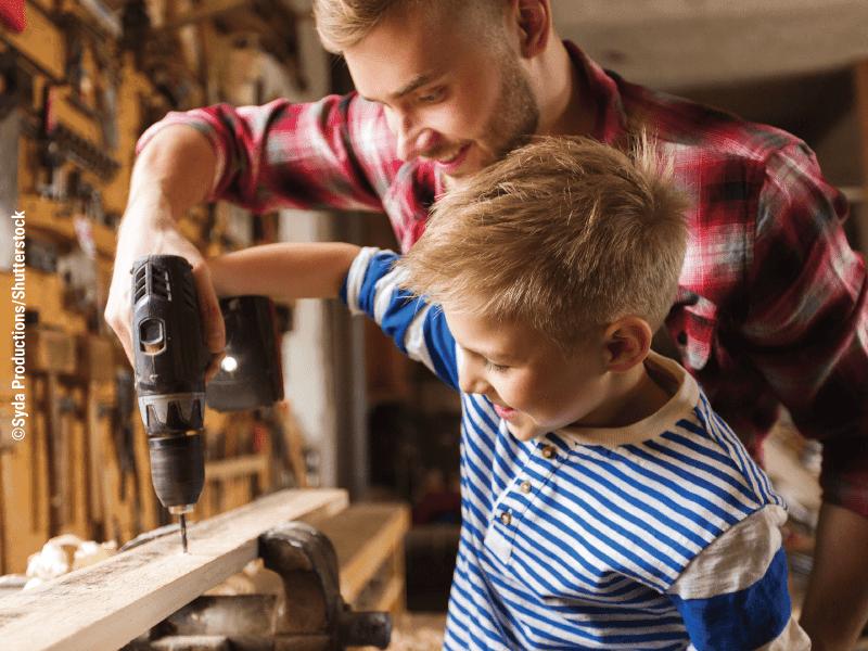 8 bài học chỉ có các ông bố mới dạy được con trai mình - 4