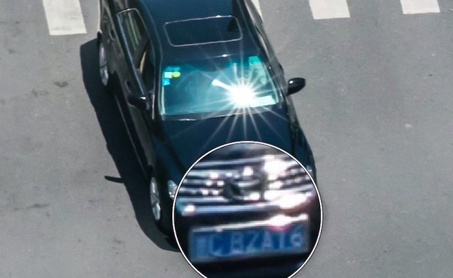 Vệ tinh Trung Quốc có thực sự chụp được cả biển số xe trên phố? - 2
