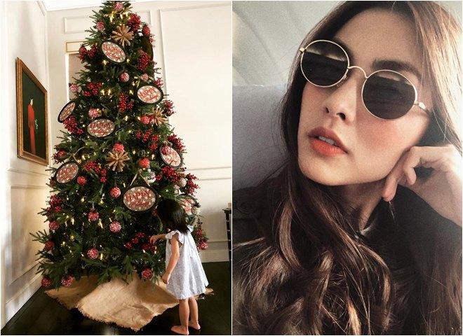 Sao Việt khoe nhà triệu đô được trang trí rực rỡ đón Giáng Sinh - 4