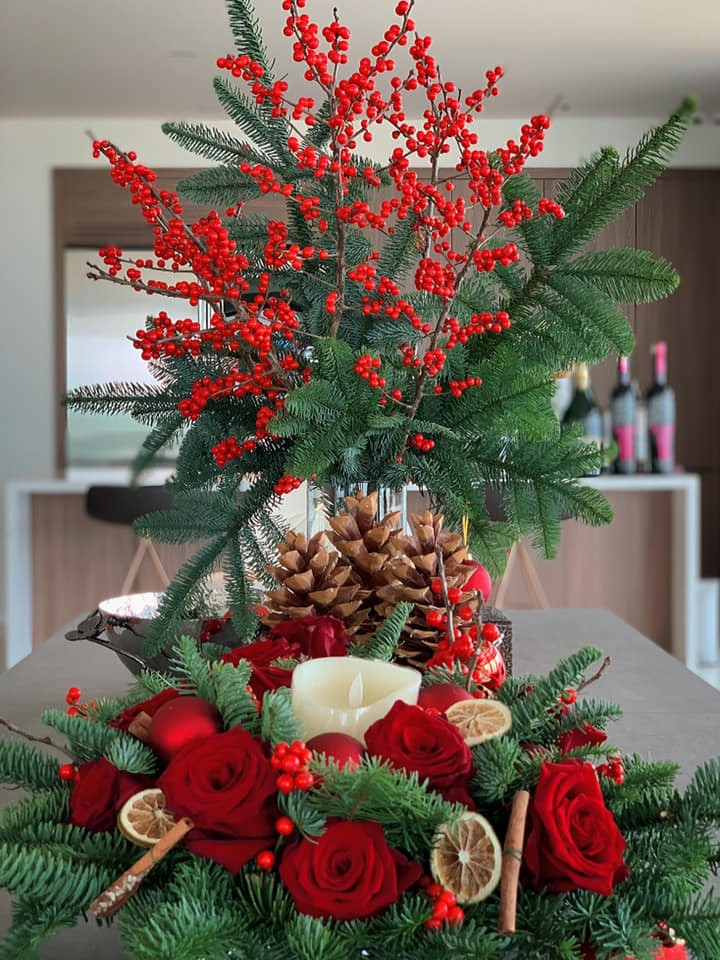 Sao Việt khoe nhà triệu đô được trang trí rực rỡ đón Giáng Sinh - 7