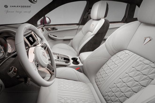 Nội thất trên Porsche Macan thêm sang chảnh và xa hoa qua bàn tay Carlex Design - 6