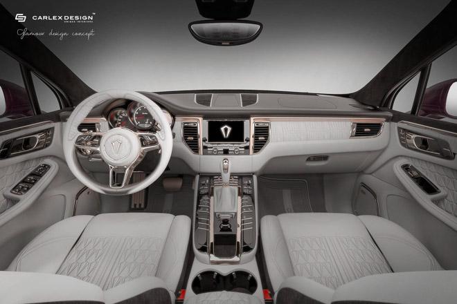 Nội thất trên Porsche Macan thêm sang chảnh và xa hoa qua bàn tay Carlex Design - 2