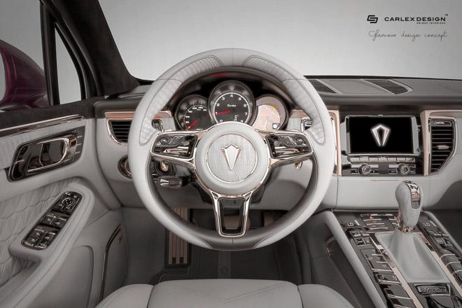 Nội thất trên Porsche Macan thêm sang chảnh và xa hoa qua bàn tay Carlex Design - 4