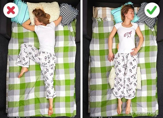 """9 tư thế ngủ giúp bạn """"quét sạch"""" bệnh tật trong người - 2"""