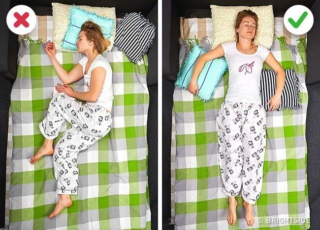 """9 tư thế ngủ giúp bạn """"quét sạch"""" bệnh tật trong người - 3"""