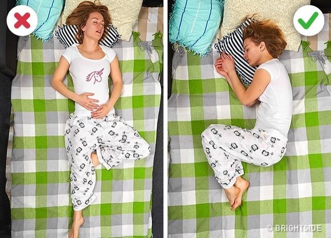 """9 tư thế ngủ giúp bạn """"quét sạch"""" bệnh tật trong người - 7"""