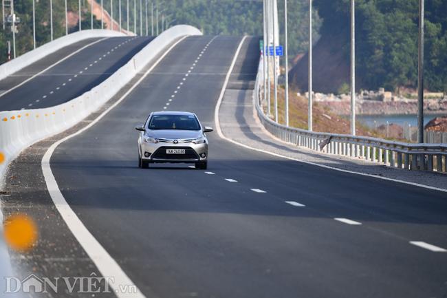 Toàn cảnh cao tốc 12.000 tỷ đồng tại Quảng Ninh trước ngày thông xe - 7