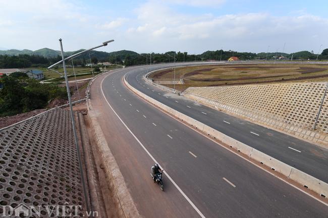 Toàn cảnh cao tốc 12.000 tỷ đồng tại Quảng Ninh trước ngày thông xe - 9