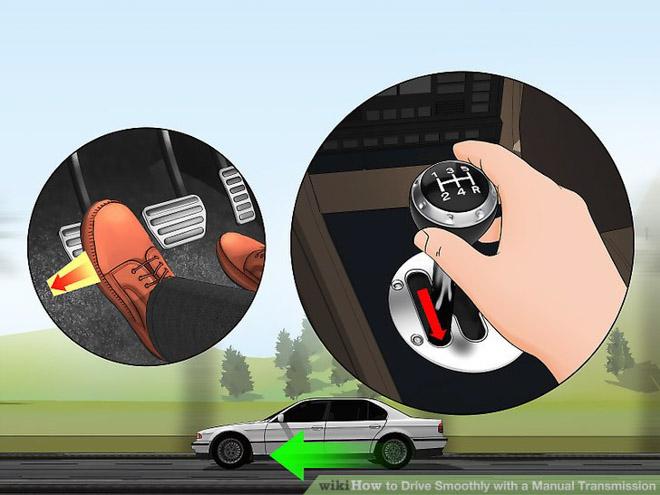 Cách sử dụng xe số sàn đúng cách cho người mới cầm lái - 2