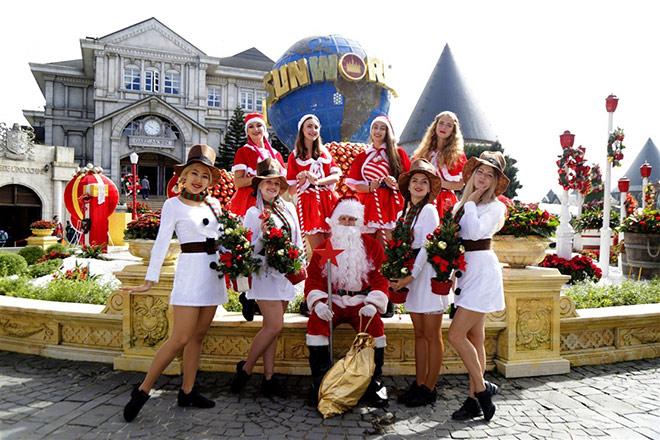 Check-in lễ hội mùa đông đậm sắc màu châu Âu trên đỉnh Bà Nà - 1