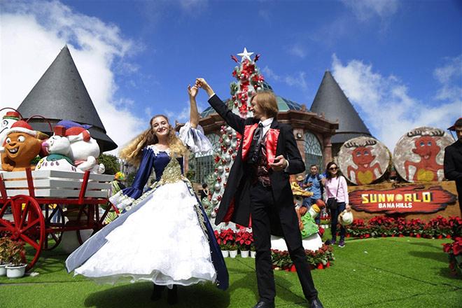 Check-in lễ hội mùa đông đậm sắc màu châu Âu trên đỉnh Bà Nà - 4