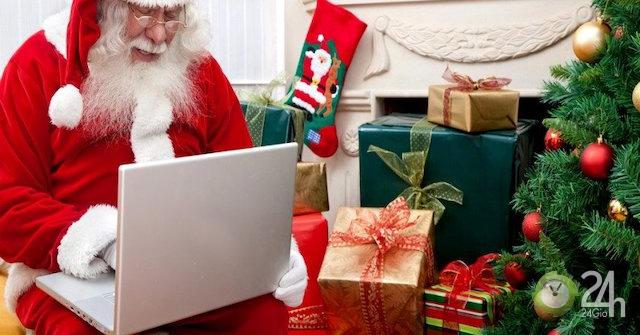 Quà Giáng sinh 2018 phút chót cho người bận rộn, không phải chen lấn, xô đẩy