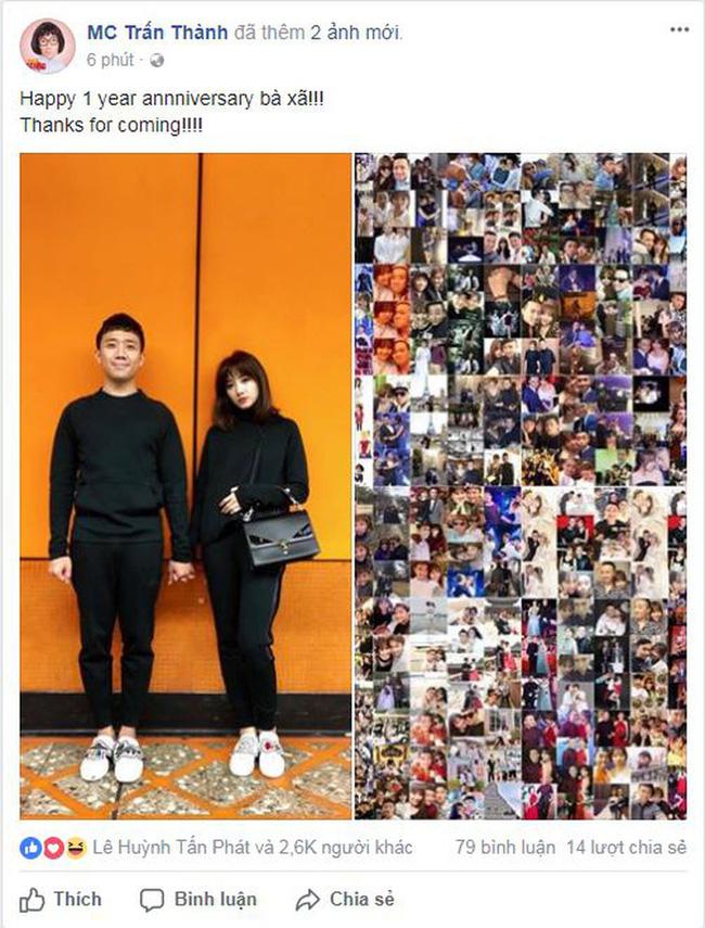 """Nhắn vợ Hari Won nhân 2 năm ngày cưới, Trấn Thành bị """"bóc mẽ"""" điều này - 3"""