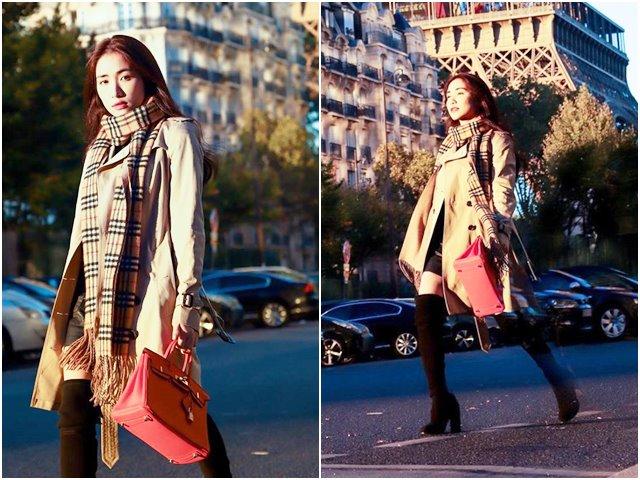 Chiếc túi đắt đỏ nhất của Hòa Minzy