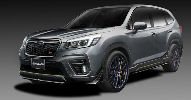 Subaru Forester STI lộ diện trước ngày ra mắt chính thức - 1