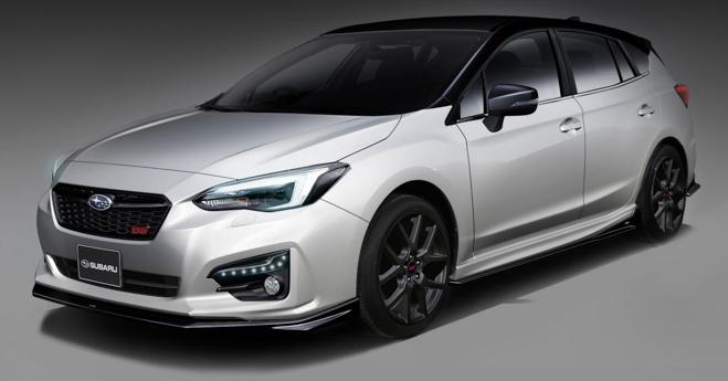 Subaru Forester STI lộ diện trước ngày ra mắt chính thức - 2