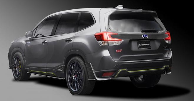 Subaru Forester STI lộ diện trước ngày ra mắt chính thức - 3