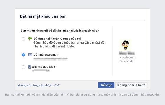 4 việc cần làm ngay lập tức khi bị hack Facebook - 3