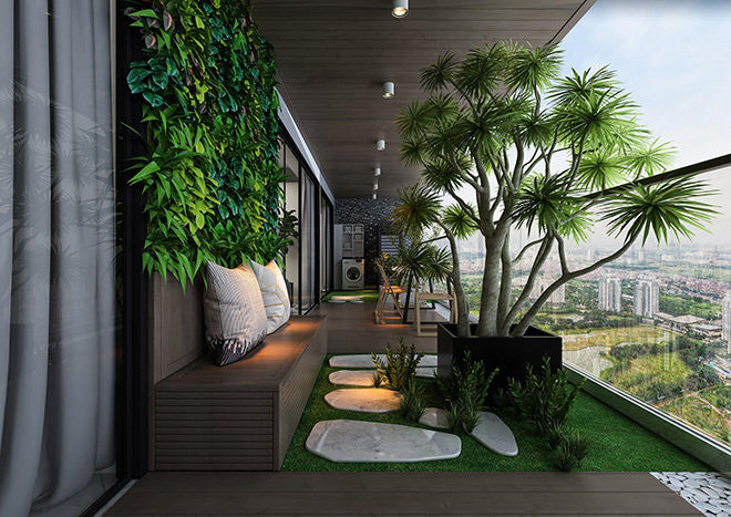 Khám phá căn hộ đẳng cấp sở hữu sân vườn riêng hiếm hoi tại Hà Nội - 1