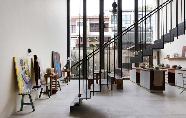 Kiến trúc như nhà hoang nhưng nội thất khiến ai cũng kinh ngạc