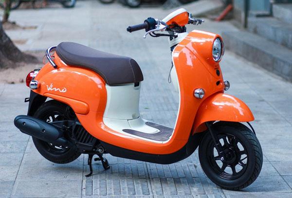 """Xế đỏm Vino 2018 - """"Đứa con lai"""" của Honda và Yamaha về Hà Nội - 2"""