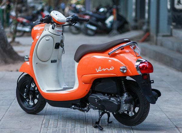 """Xế đỏm Vino 2018 - """"Đứa con lai"""" của Honda và Yamaha về Hà Nội - 3"""