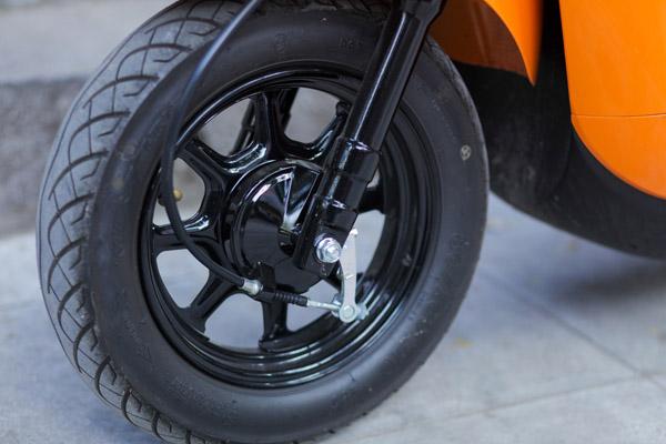 """Xế đỏm Vino 2018 - """"Đứa con lai"""" của Honda và Yamaha về Hà Nội - 5"""