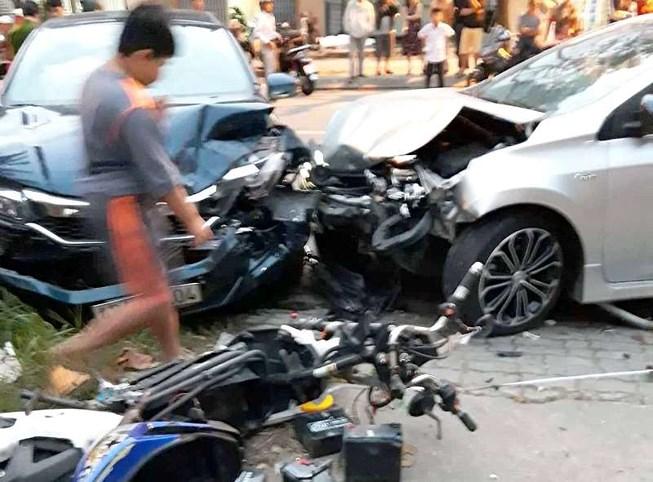 Ô tô húc văng học sinh 14 tuổi ở Đà Nẵng - 1