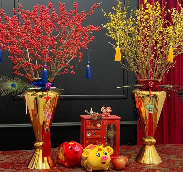 Kỳ lạ hoa đào đỏ au bán gần triệu đồng một cành dịp Tết Dương lịch - 3