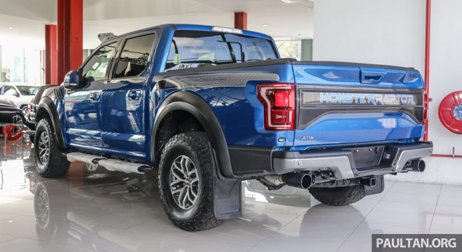 """""""Siêu bán tải"""" Ford F-150 Raptor giá 4,4 tỷ đồng bán chính hãng tại Malaysia - 4"""