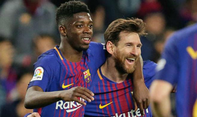 """Barca đấu Inter Milan cúp C1, Messi báo tin vui bất chấp bị """"người cũ"""" trù dập - 1"""