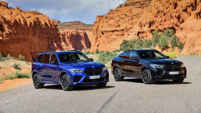 Bộ đôi SUV hiệu suất cao của BMW chính thức lộ diện