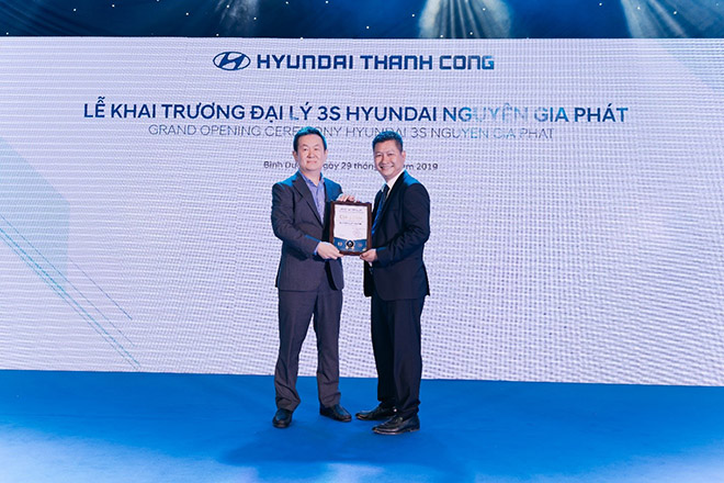 Chính Thức Khai Trương Showroom 3S Hyundai Nguyên Gia Phát - 2