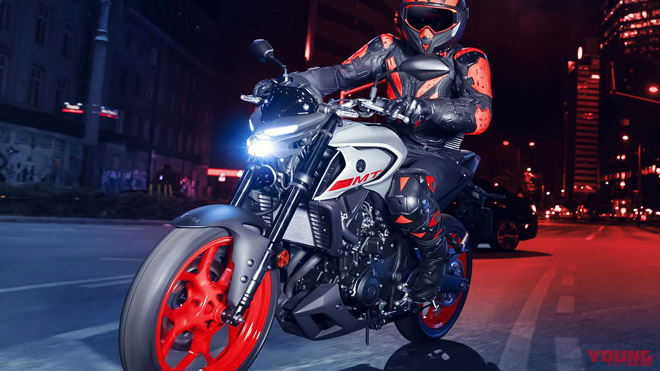 Yamaha MT-03 2020 đại tu lớn: Phuộc mới, màn hình LCD, đèn pha LED