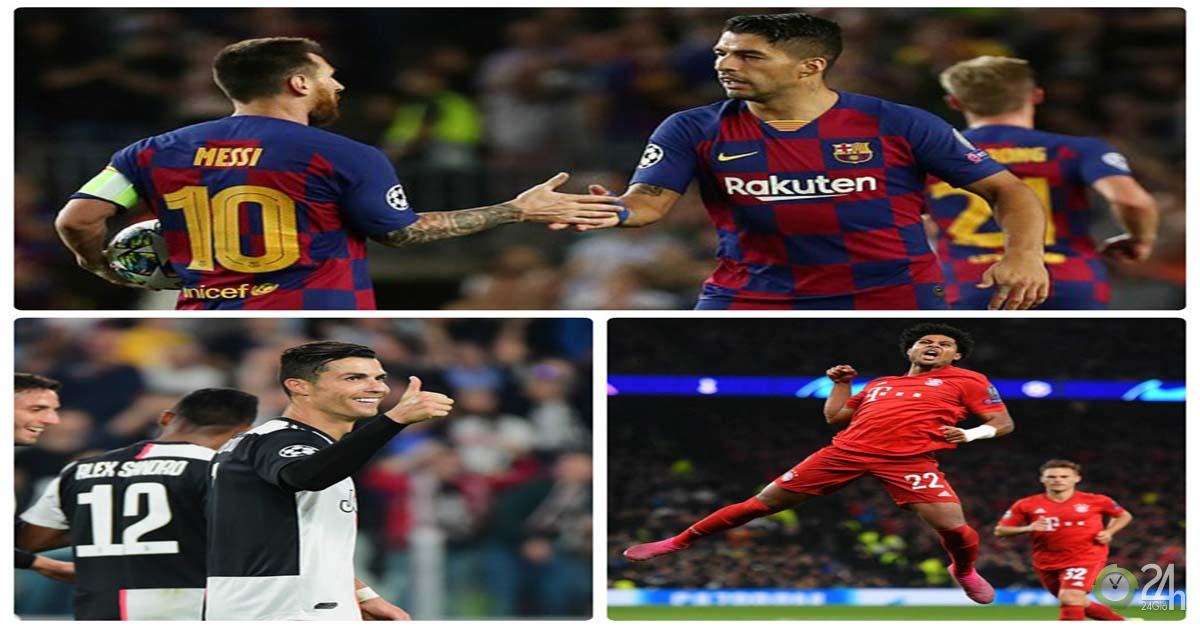 Ronaldo - Suarez - Salah đua tài, Tottenham khiến nước Anh xấu hổ ở lượt 2 Cúp C1