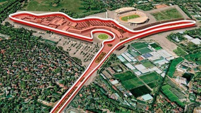 Sơ đồ đường đua F1