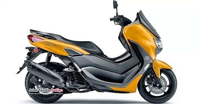 """Yamaha NMAX 2020 sắp trình làng: Trang bị hàng loạt """"vũ khí tối tân"""" - 1"""