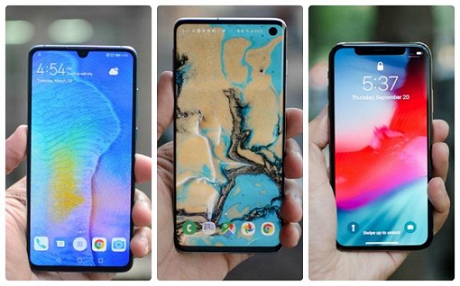 Đây là 3 smartphone cao cấp, hiệu năng đỉnh nhưng giá