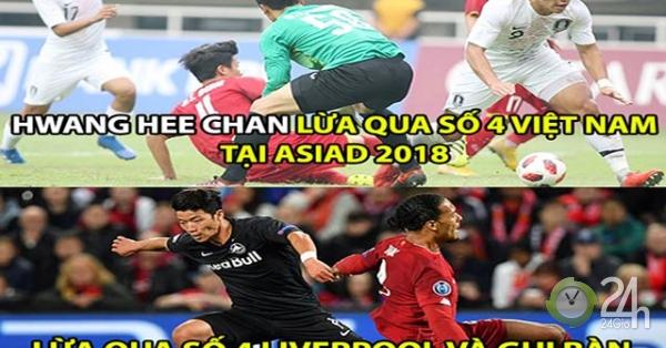 Ảnh chế: Bí kíp để ghi bàn tại cúp C1 là... đối đầu Việt Nam