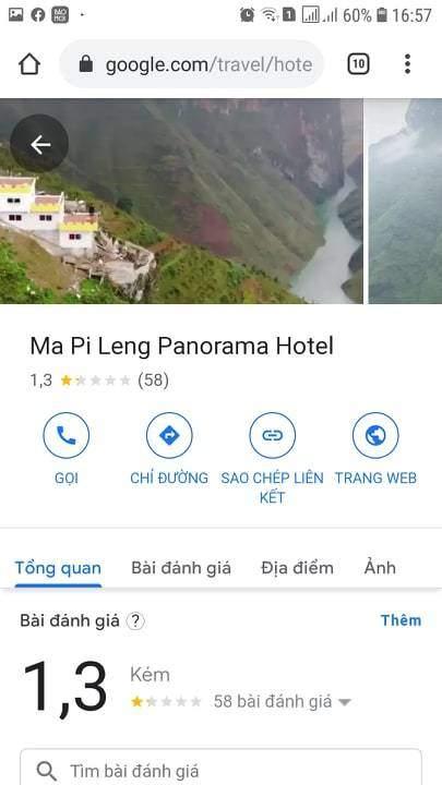 Dân mạng tẩy chay, điểm đánh giá của khách sạn Panorama Mã Pì Lèng thê thảm - 3