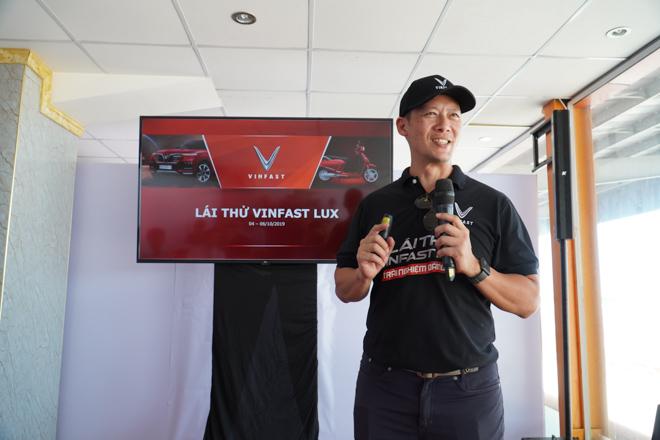 Cùng chuyên gia quốc tế lái thử xe Vinfast tại trường đua Đại Nam - 2