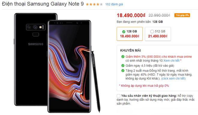 """Top smartphone giảm giá """"sốc"""" tuần này - 4"""