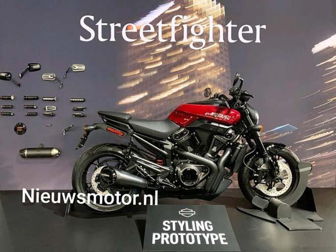 Harley-Davidson sẵn sàng để ra mắt Streetfighter 975 vào 5/11 tới