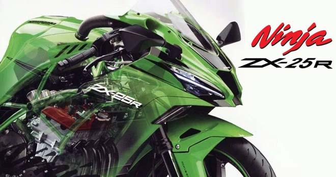 """Kawasaki Ninja ZX-25R chốt ngày ra mắt: Sẵn sàng """"phá đảo"""" phân khúc sport-bike cỡ nhỏ"""