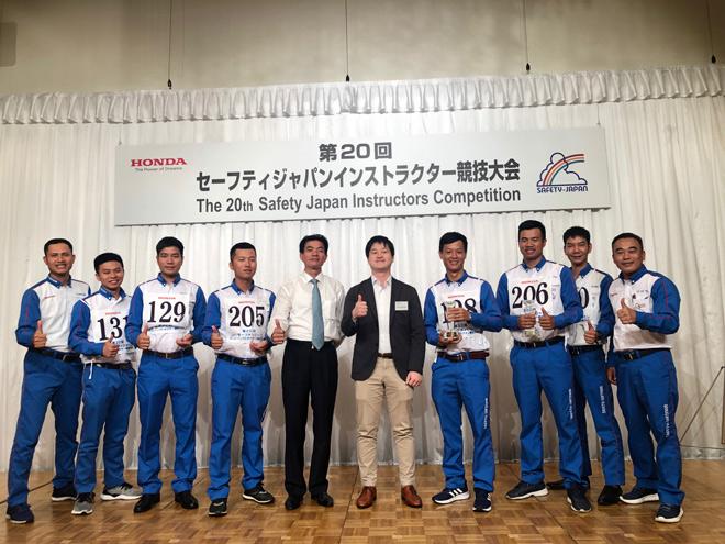 Honda Việt Nam giành chiến thắng thứ 6 tại Cuộc thi Hướng dẫn viên Lái xe an toàn Quốc tế 2019 - 1