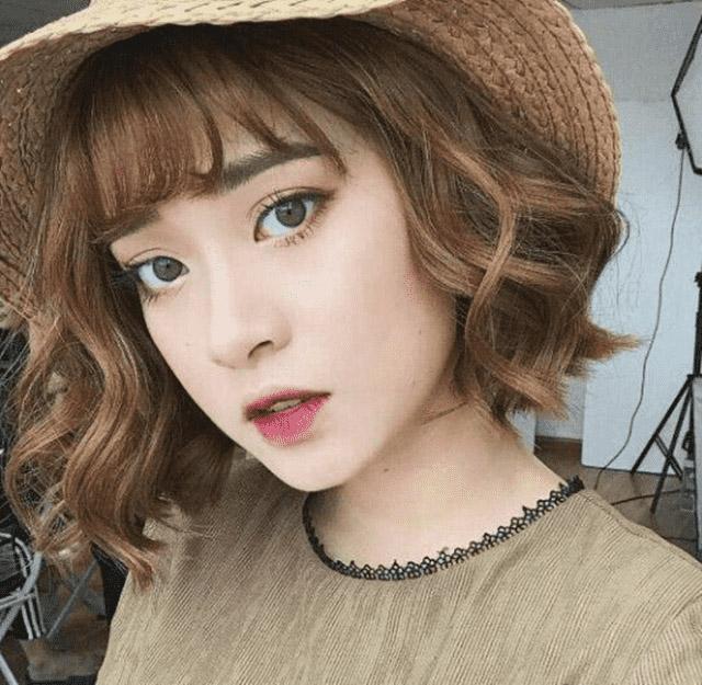 Kiểu tóc ngắn cho mặt tròn to đẹp giúp che khuyết điểm hoàn hảo - 6
