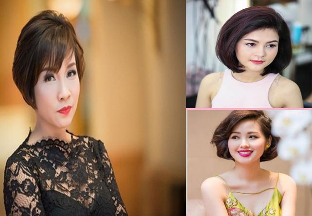 Kiểu tóc ngắn cho mặt tròn to đẹp giúp che khuyết điểm hoàn hảo - 12