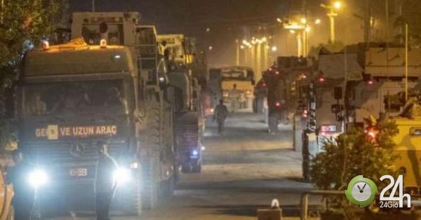Bất chấp bị dọa, Thổ Nhĩ Kỳ vẫn rầm rộ điều quân chuẩn bị giáng đòn đồng minh của Mỹ