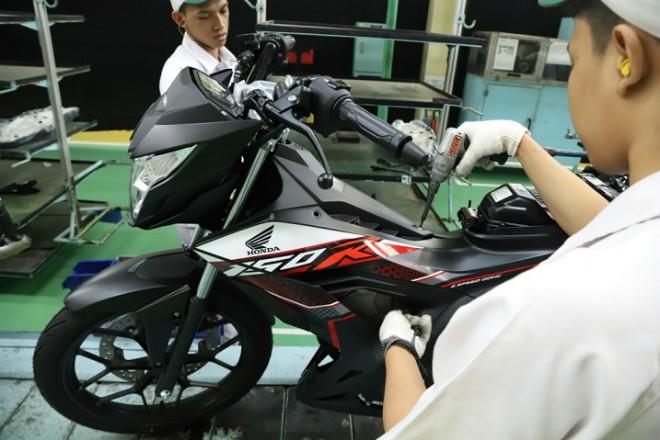 2020 Honda Sonic giá 37,4 triệu đồng ra mắt, thách đấu Yamaha Exciter